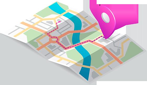Добавление на google карты